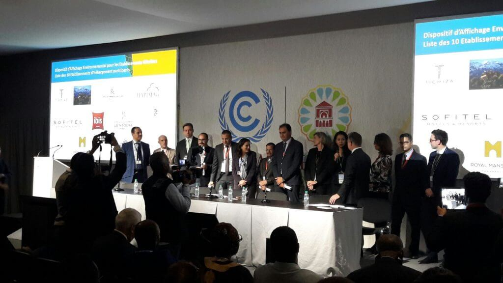 Conférence solutions tourisme durable au Maroc au cœur de la COP22