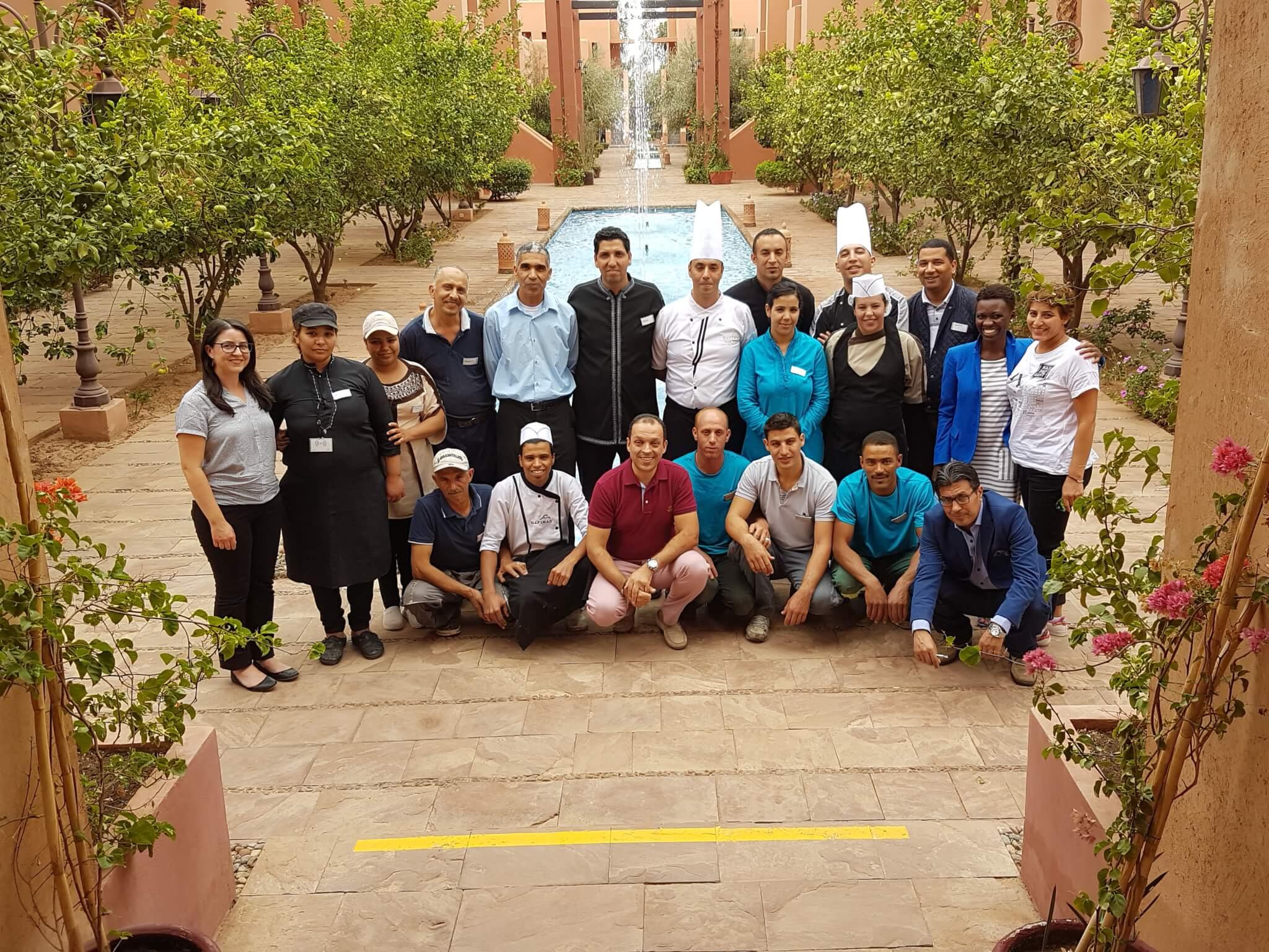 Projet pilote d'affichage environnemental au Maroc (2016-2017)